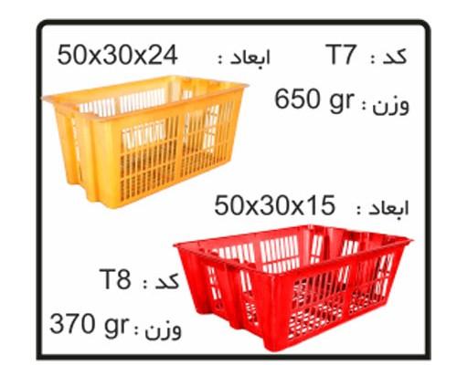 کارگاه جعبه های صادراتی (ترانسفر)کدT8